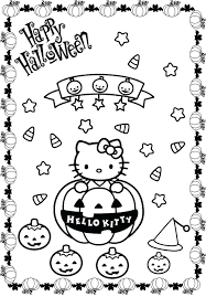 Free Hello Kitty Birthday Coloring Pages Melody Printable Merry ...