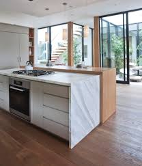 mid century modern kitchen white. Pleasing Mid Century Modern Windows Decorating Ideas With Fully Integrated Kitchen Calaccatta Countertop Home White