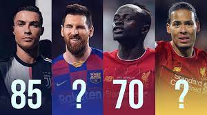 أوزان أشهر 50 لاعب كرة القدم في العالم لسنة 2021-2020 - YouTube