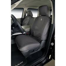 covercraft front seat cover seatsaver carhartt gravel for 40 20 40 split bench seat