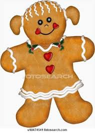 gingerbread woman. Simple Woman Clipart Of Gingerbread Woman Cookie For Woman