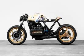caf racer two versions of bmw k100