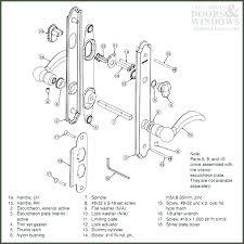 Front Door Lock Assembly S Schlage Entry Door Lock Parts
