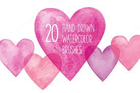 free watercolor brushes illustrator get awesome selected only photoshop and illustrator brush pack