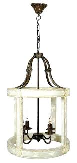 chandeliers wrought iron rustic french farmhouse chandelier hanging white rusti