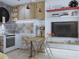 compact office kitchen modern kitchen. Compact Office Kitchen Modern Luxury 4 Super Tiny Apartments Under 30 Square Meters [includes Floor Plans] T