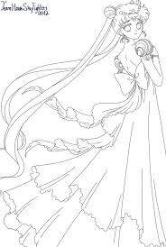 Princess Serenity Coloring Pages 2019 Open Coloring Pages