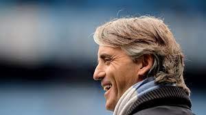 Erfreuter Mancini bleibt noch lange bei City   UEFA Champions League