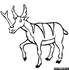 Small Picture Prehistoric Mammals Online Coloring Pages Page 1