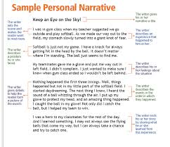 examples of personal narrative essays personal narrative sample paper time for kids