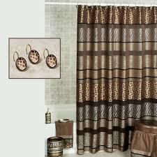 Animal Print Shower Curtain Interior Design