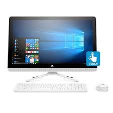 Amazon.com: HP 24-inch All-in-One Computer, Intel Core i3-7100U, 4GB RAM, 1TB hard drive, Windows 10 (24-g230, White): Computers \u0026 Accessories
