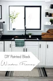 love the look of black window frames if you want to paint your own picture bulk