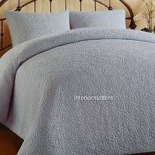 Casual Comfort Bedding Cotton Solid Light Blue 3pc King Quilt Sham ... & Casual Comfort Bedding Cotton Solid Light Blue 3pc King Quilt Sham Set New Adamdwight.com