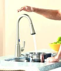 kitchen faucet sensate kohler touchless reviews kitchen faucet less k vs ac