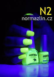 Norma Mini Nail Polish N2 Lak Na Nehty Neonový žlutý Mat Yellow Sun Matt 5ml