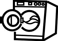 washing machine clipart black and white. washing machine clip art black and white clipart u