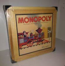 Wooden Monopoly Board Game 100 Wooden Monopoly Nostalgia Game Series Parker Brothers 100 94