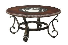 round cocktail table end table dark bronze finish round coffee table and end tables