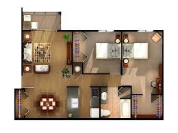 Two Bedrooms And One Bathroom