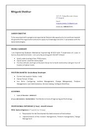 Mrigank ServiceNow CV Amazing Servicenow Developer Resume