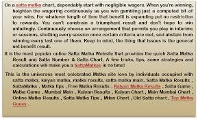 Rajdhani Chart Ppt Rajdhani Day Penal Chart Rajdhani Night Panel Chart