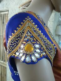 blouse hand work design