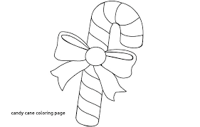 Candy Cane Coloring Sheet Pages Printable Heart
