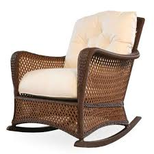 wicker rocking chair. Lloyd Flanders Grand Traverse Wicker Rocking Chair M
