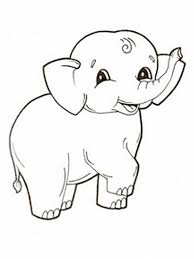 Small Picture Giraffe And Elephant Coloring Page anfukco