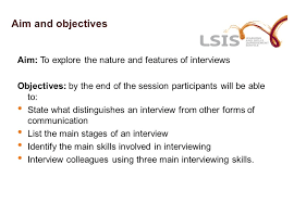 Interview Introduction Introduction To Interviewing Skills For Community Learning Champions