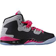 jordan shoes for girls black and white. air jordan sport fuchsia basketball shoes school girls black white spike 40 grade kids reflective for and