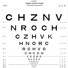 Vision Chart Cp 4000 Luxvision Us Ophthalmic