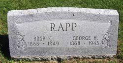 Rosa C Krug Rapp (1868-1949) - Find A Grave Memorial