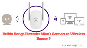 belkin range extender won't connect to wireless router ? techvaidya http //router to finish setup at Belkin Network Diagram