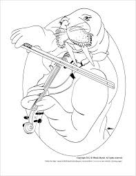 Small Picture SOPA and a Seranade of the Walrus coloring page