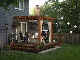 backyard ideas deck. creative of backyard small deck ideas and cover pinterest decks f