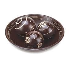 Decorative Ball Bowl Stunning Amazon Smart Living Company Umber Decorative Ball Set Home