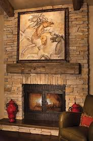 stunning rustic fireplace mantel designs ideas from reclaimed wood materials