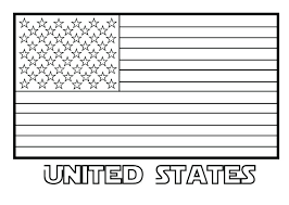Usa Flag Coloring Page Vputiinfo