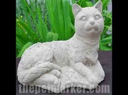 cat garden statue. handcrafted cement cat garden statues. animal statues and galore! - youtube statue