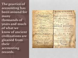 Ppt The History Of Accounting Powerpoint Presentation Id 2011010