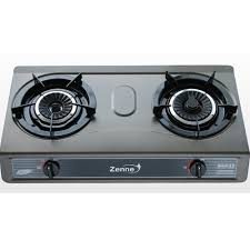 gas stove. ZENNE GAS COOKER-BLACK Gas Stove