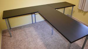 TShaped Partner Desk from IKEA parts