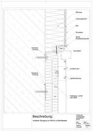 D 06 0033 Vertikaler übergang Von Wdvs Zu Blechfassade Detail