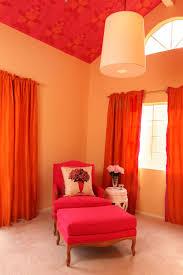 Burnt Orange Wohnzimmer Orange Wandfarbe Orange Wände Wohnzimmer