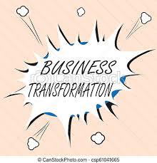 Word Models Word Writing Text Business Transformation Business Concept For Align Their Trade Models With Strategy Improvement