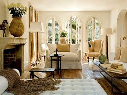 French Country Living Room Makeover eclectic-living-room