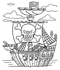 Treasure Coloring Pages Pirate Coloring Pages To Print Pirate