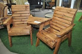 Image of: Nice Wooden Outdoor Furniture